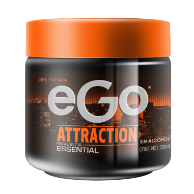 eGo gel for men Attraction 200ml
