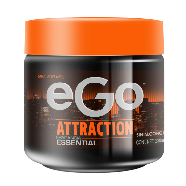 eGo gel for men Attraction 230ml