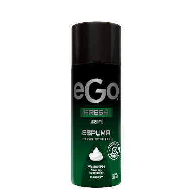 Espuma de afeitar eGo fresh 200ml