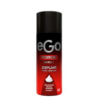 Espuma de afeitar eGo force 200ml