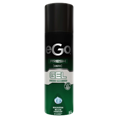 Gel de afeitar eGo fresh 200ml